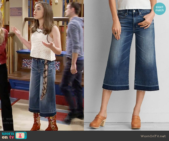 American Eagle Festival Crop Jean worn by Riley Matthews on Girl Meets World