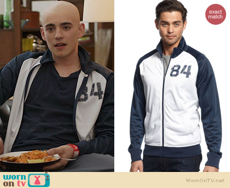 American Rag Varsity Track Jacket worn by Charlie Rowe on Red Band Society