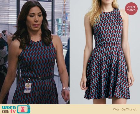 Anthropologie 4 Collective Azyln Dress worn by Michaela Conlin on Bones