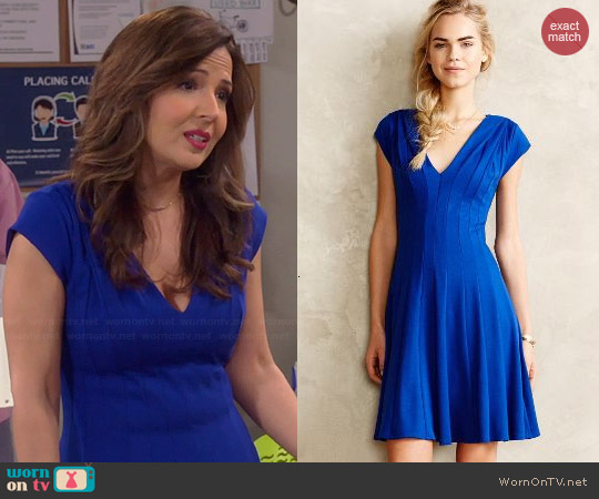 Anthropologie Alena Dress worn by Maria Canals-Barerra on Cristela