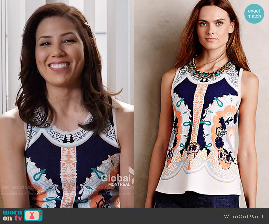 Anthropologie Anzere Tank worn by Michaela Conlin on Bones