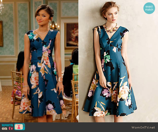 Anthropologie Baikal Dress worn by Zendaya on KC Undercover