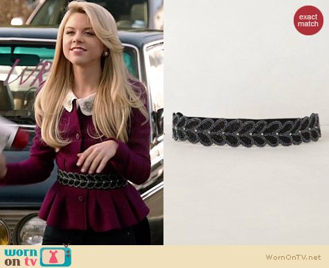 Anthropologie Beaded Valley Belt worn by Bailey Buntain on Faking It