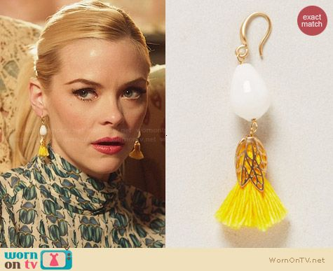 Anthropologie Candied Tassel Drops worn by Lemon Breeland on Hart of Dixie