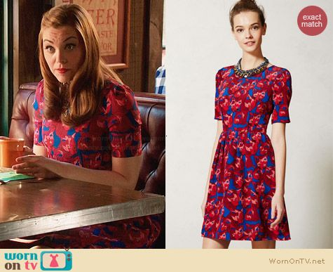 Anthropologie Cheshire Dress worn by Kaitlyn Black on Hart of Dixie