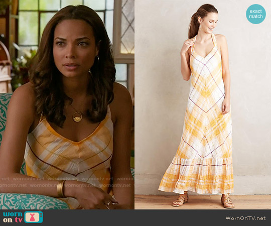 Holding Horses Clementine Maxi Dress worn by Rochelle Aytes on Mistresses