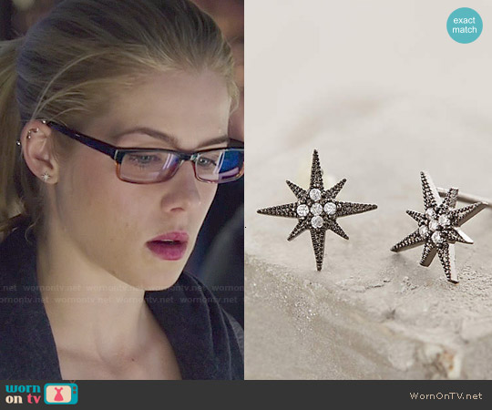 Anthropologie Compass Rose Petals worn by Emily Bett Rickards on Arrow