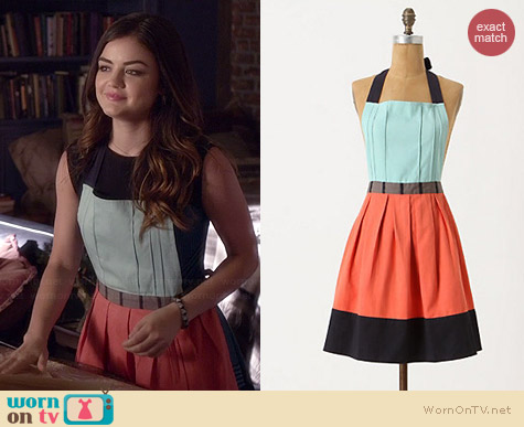 Anthropologie Cuisine Couture Apron worn by Lucy Hale on PLL
