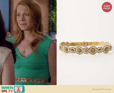 Anthropologie Daisy Chain Belt worn by Katie Leclerc on Switched at Birth