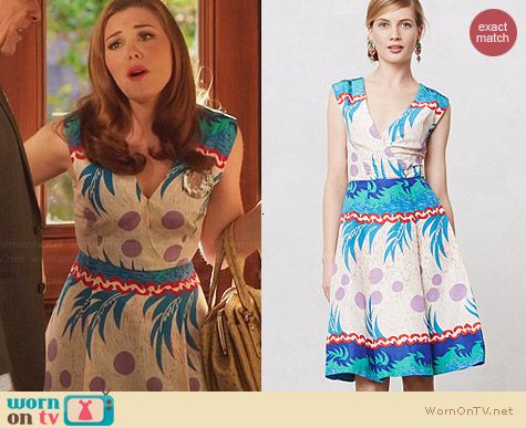 Anthropologie Escape Dress by Tracy Reese worn by Kaitlyn Black on Hart of Dixie