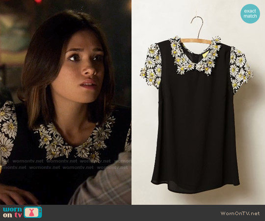 worn by Heather Chandler (Nicole Gale Anderson) on Beauty & the Beast