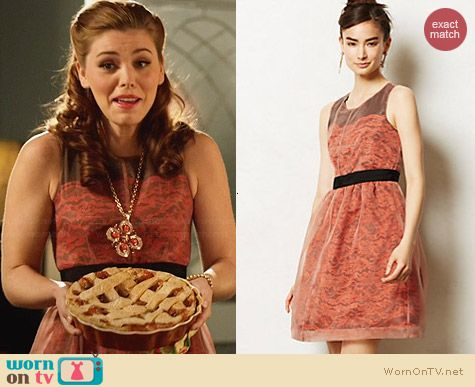 Anthropologie Frattina Dress worn by Kaitlyn Black on Hart of Dixie