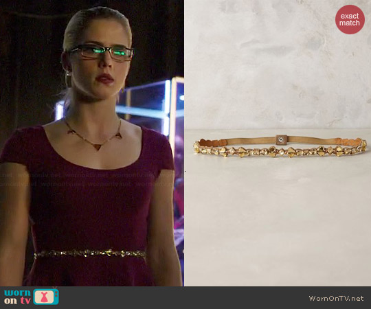 Anthropologie Gem Rays Belt worn by Felicity Smoak on Arrow