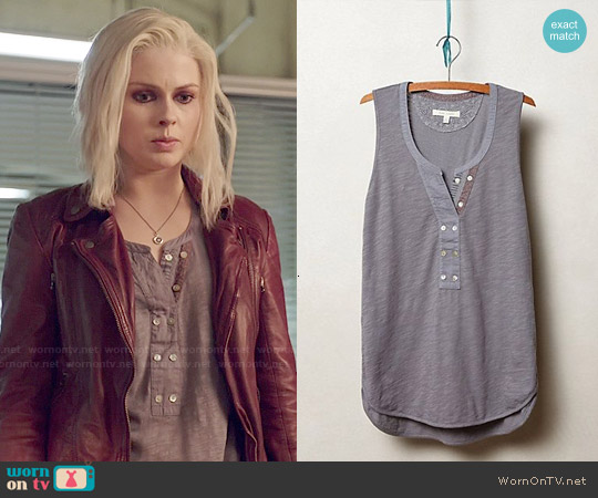 Anthropologie Jasper Henley Tank worn by Rose McIver on iZombie