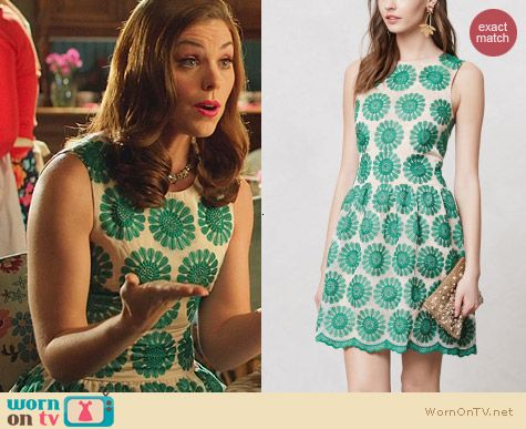 Anthropologie Lacebloom Dress worn by Kaitlyn Black on Hart of Dixie