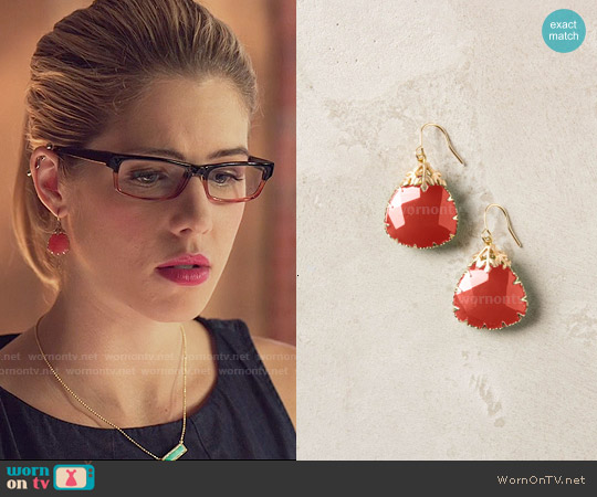Anthropologie Last Snow Drops worn by Felicity Smoak on Arrow