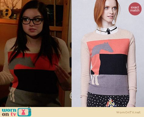 Anthropologie Lusitano Sweater worn by Ariel Winter on Modern Family