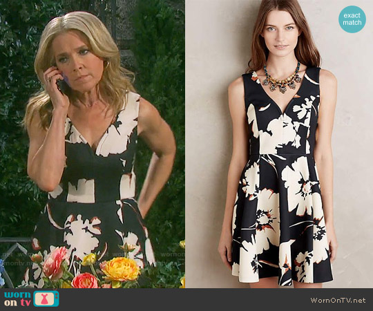 Anthropologie Amory Dress worn by Melissa Reeves on Days of our Lives