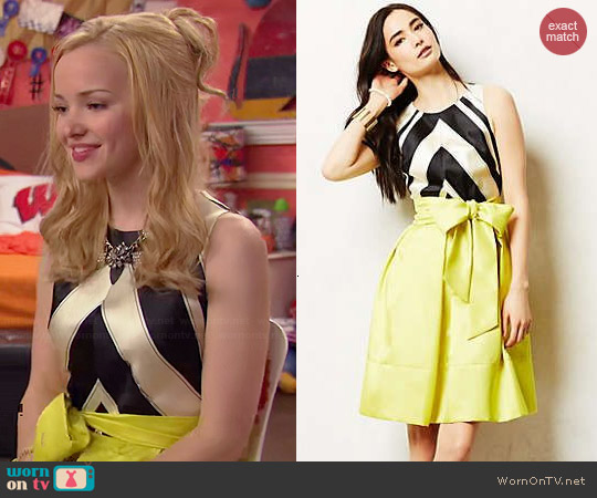 Anthropologie Miel Dress worn by Dove Cameron on Liv & Maddie