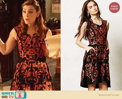 Anthropologie Mirissa Dress worn by Kaitlyn Black on Hart of Dixie
