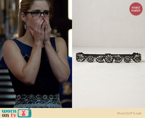 Anthropologie Phula Belt worn by Emily Bett Rickards on Arrow