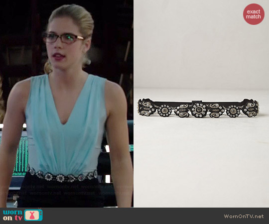 Anthropologie Phula Belt worn by Felicity Smoak on Arrow