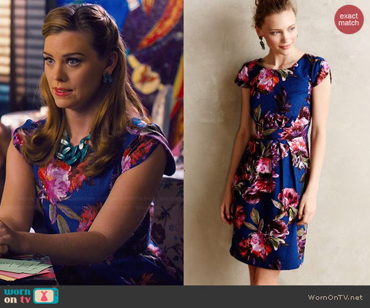 Anthropologie Rosado Sheath worn by Kaitlyn Black on Hart of Dixie