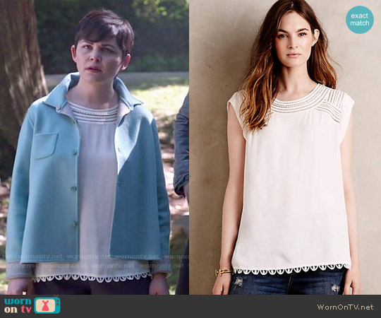 Meadow Rue Sanna Blouse worn by Ginnifer Goodwin on OUAT