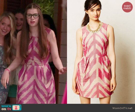 Anthropologie Savona Dress worn by Conner Dwelly on GG2D