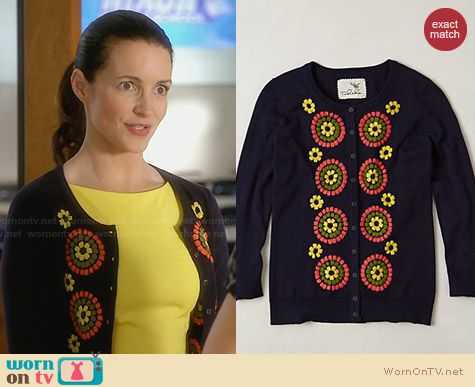 Anthropologie Soleil Cardigan worn by Kristin Davis on Bad Teacher