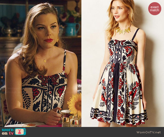 Anthropologie Sweetwater Dress worn by AnnaBeth Nass on Hart of Dixie