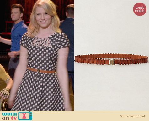 Anthropologie Tabby Belt worn by Dianna Agron Glee