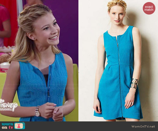 Anthropologie Tonnelle Dress worn by G. Hannelius on Dog with a Blog