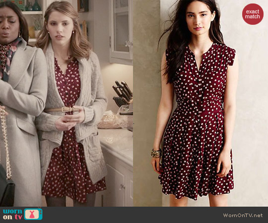 Anthropologie West Street Shirtdress worn by Wallis Currie-Wood on Madam Secretary
