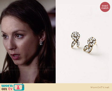 Anthropologie Windmill Posts worn by Troian Bellisario