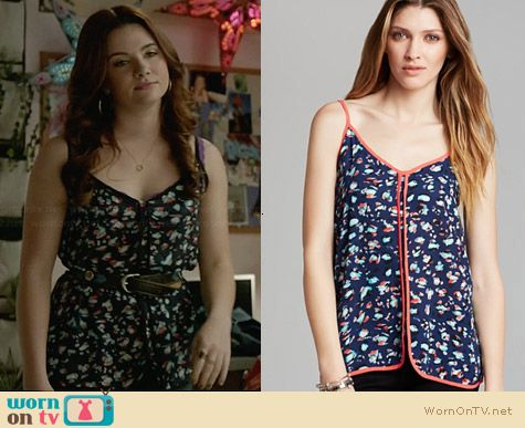 Aqua Tank worn by Katie Stevens on Faking It