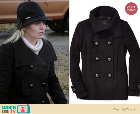 Aritzia Babaton Howell Coat worn by Jennifer Morrison on OUAT
