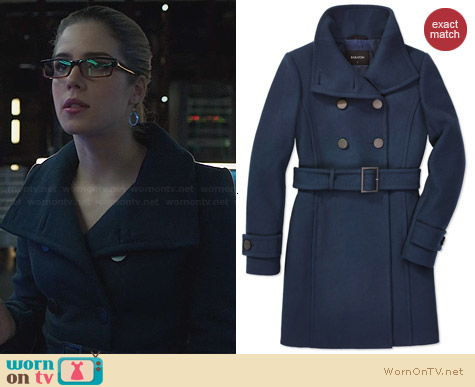 Babaton Bromley Coat worn by Emily Bett Rickards on Arrow