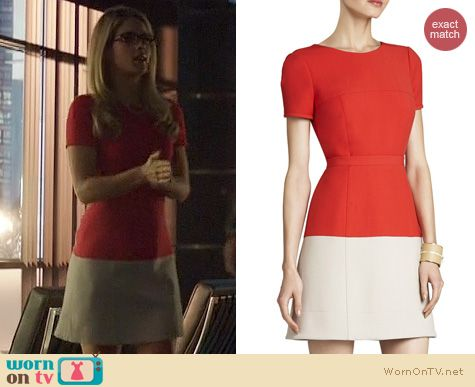 Fashion of Arrow: BCBGMAXAZRIA Hannah Dress worn by Emily Bett Rickards