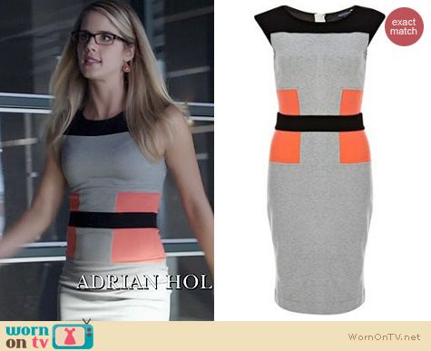 Arrow Fashion: French Connection Manhattan dress worn by Emily Bett Rickards