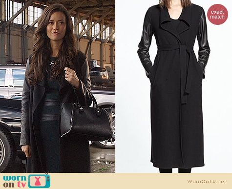 Arrow Fashion: Judith & Charles Bobby B Coat worn by Summer Glau