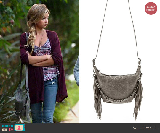 Ash Bo Crossbody Bag in Grey worn by Sarah Hyland on Modern Family