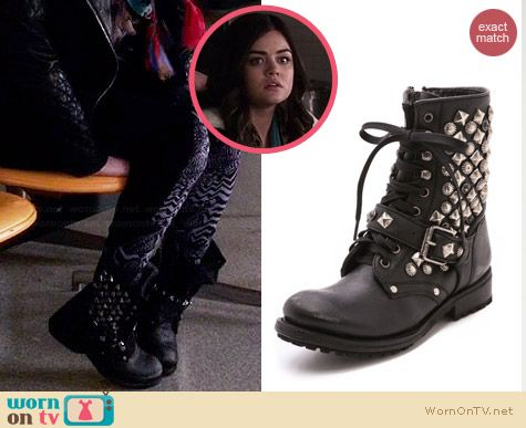 Ash Ryanna Boots worn by Lucy Hale on PLL