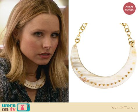 Ashley Pittman Kaba Necklacd worn by Kristen Bell on House of Lies