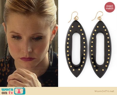 Ashley Pittman Kuacha Earrings worn by Kristen Bell on House of Lies