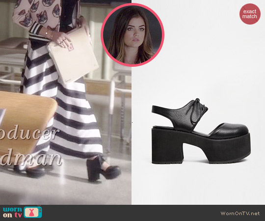 ASOS Panoramic Heels worn by Lucy Hale on PLL