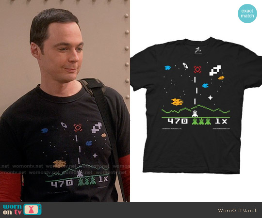 worn by Sheldon Cooper (Jim Parsons) on The Big Bang Theory