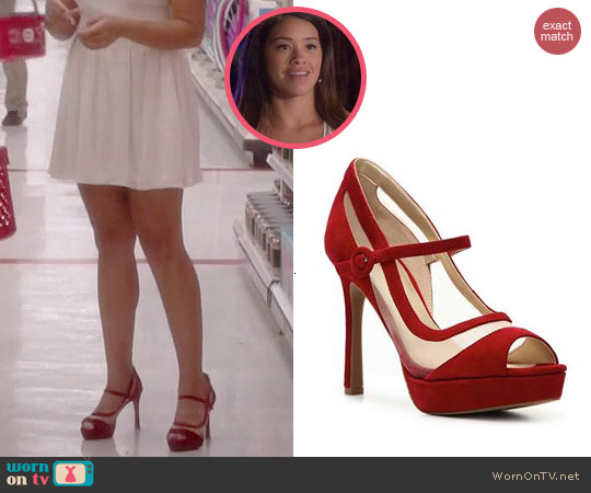 Audrey Brooke Marilyn Pumps worn by Gina Rodriguez on Jane the Virgin