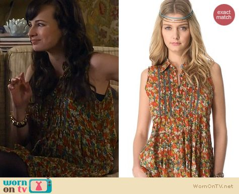 Fashion of Awkward: Free People After Dark Garden Top worn by Ashley Rickards
