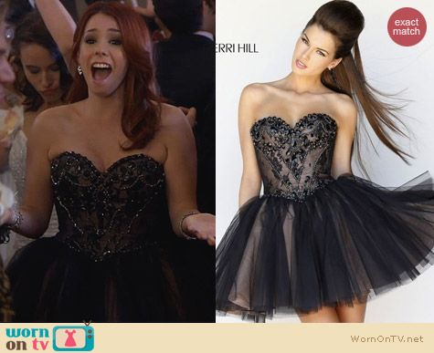 Fashion of Awkward: Sherri Hill 21156 Prom Dress worn by Jillian Rose Reed